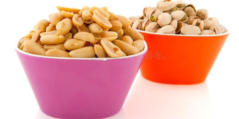 arachidi e pistacchi