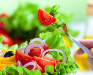 piatto vegatariano